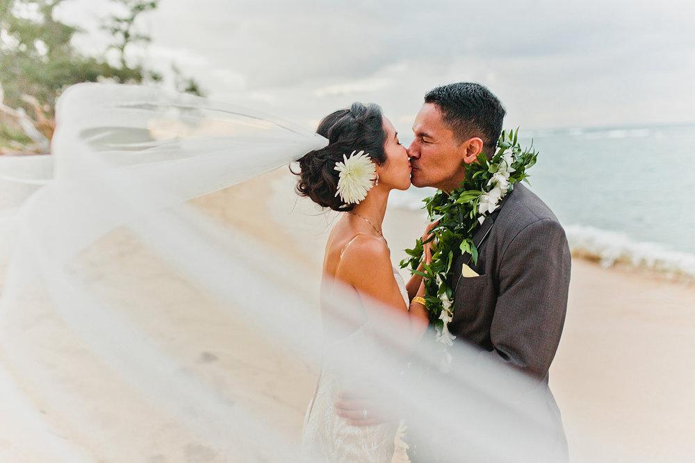 Hawaii Polo Club Wedding - Bride + groom 3_44.jpg