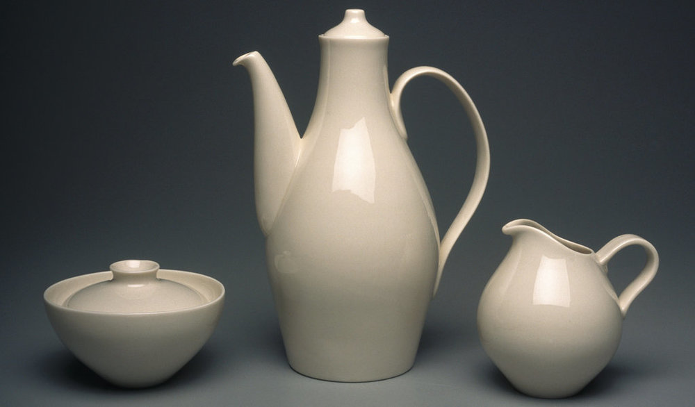 A coffee set from the 1940s. CreditBrooklyn Museum