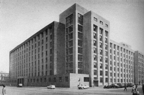 "NKVD Headquarters (Bolshoi Dom, ""Big House""), Saint-Petersburg (Leningrad), Russia"