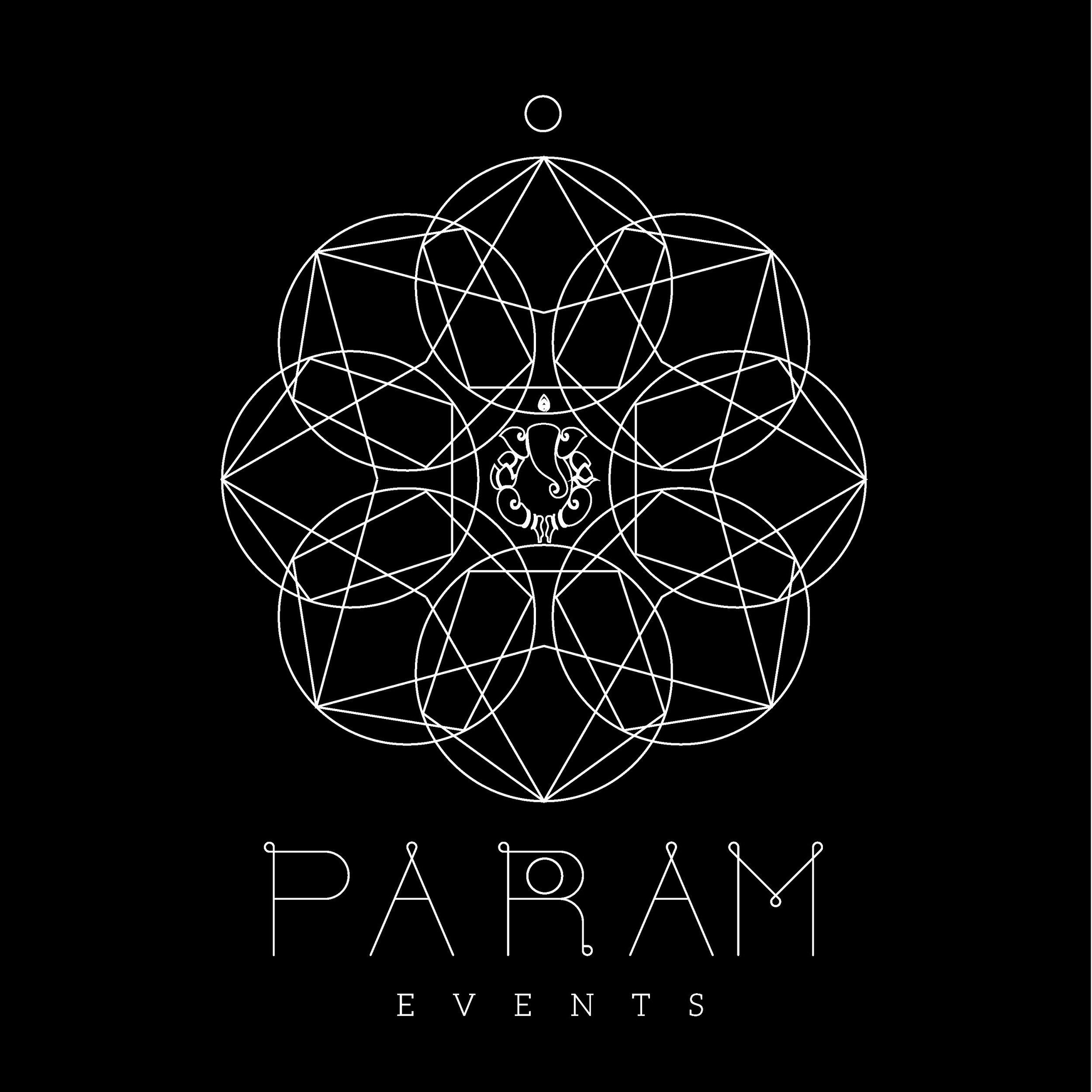 logo I designed for param events