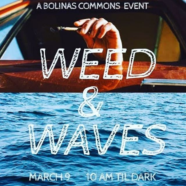 Join us at the Bolinas Commons, we'll be talking about two of our favorite things. 🌊