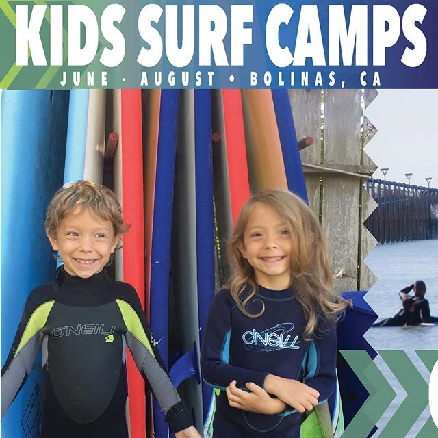 Starting this June! Taking reservations for Bolinas  kids camps now! Let coach Donk and his team teach your kids how to walk on the water. Link in bio. Private and group lessons also available year round.
