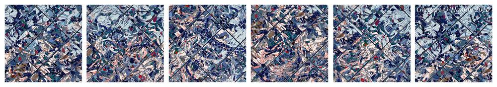Fragmented - polytych