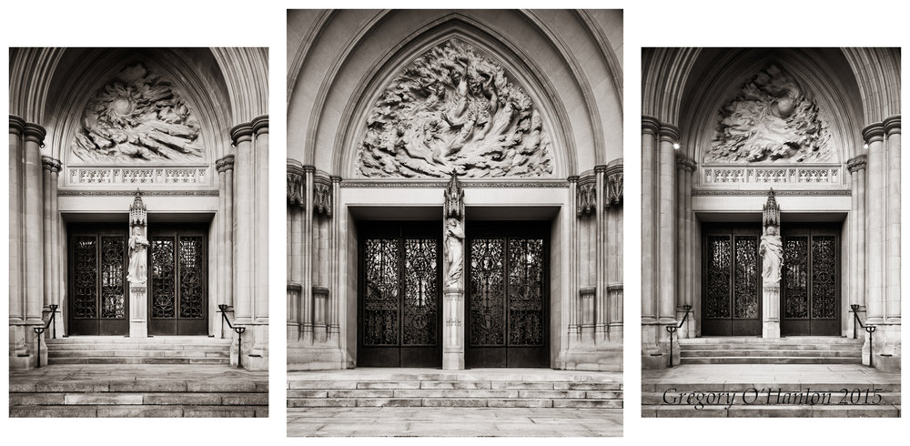 Washington National Cathedral - triptych