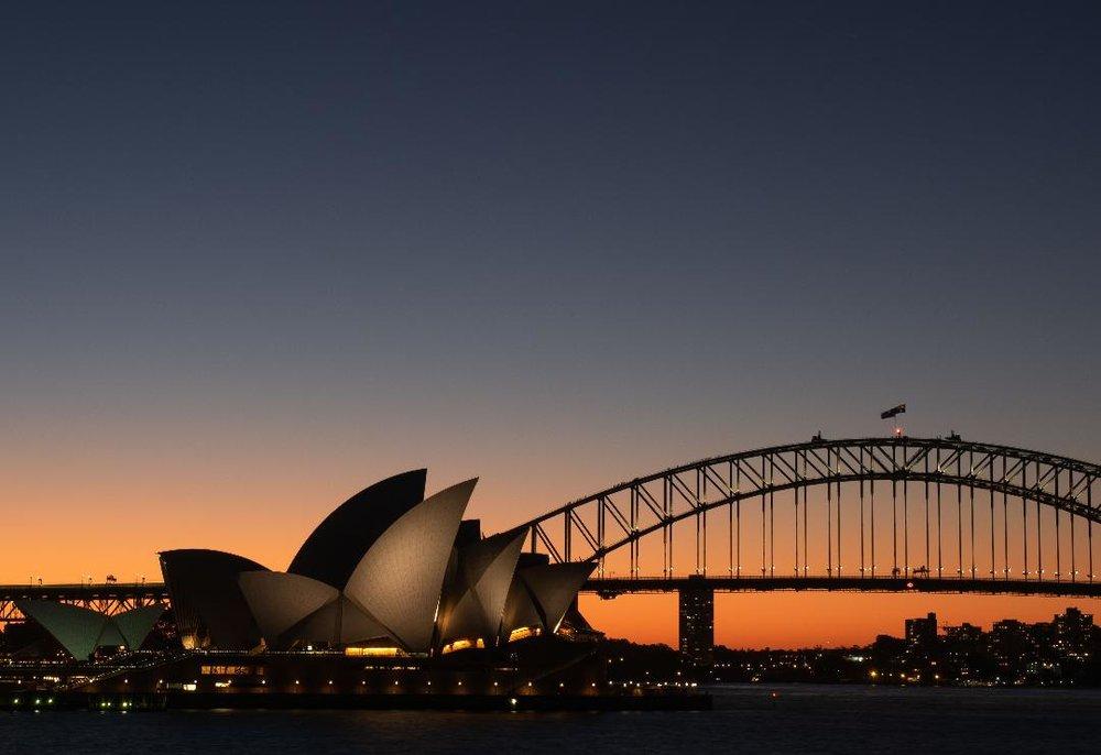 Kathryn Mohrman - Sydney in Winter - 22 x 18 - photography