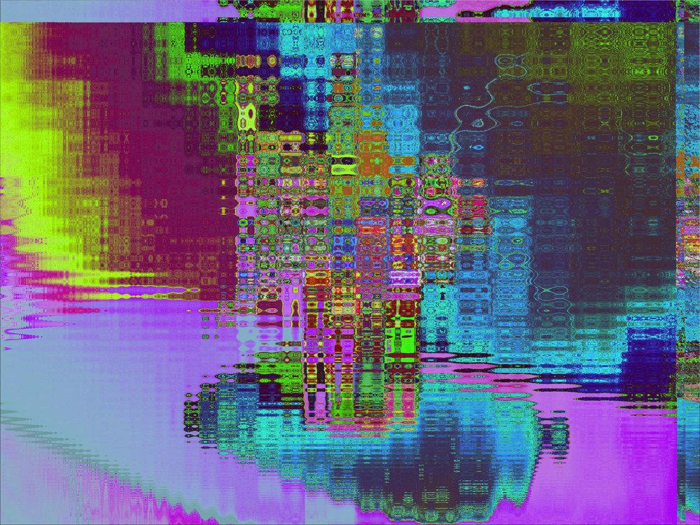 Kaleidoscope à la Chuck Close