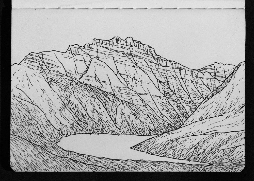 02-03 Boundary Mountain over Lake Kintla.jpg