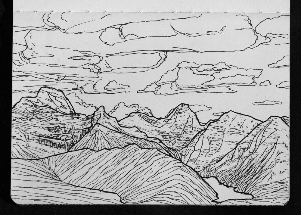02-10 Glacier NP from Ousel Peak.jpg