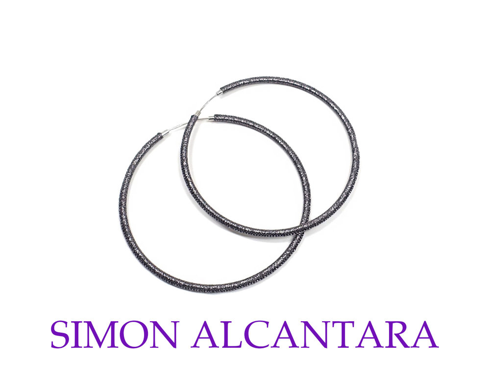 AQE113+60MM+STERLING+SILVER+HOOPS+HAND+WOVEN+WITH+ANTIQUE+SILVER+CORD.jpg