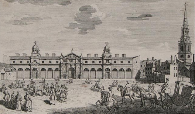 1747:The King's Mews, Charing Cross -