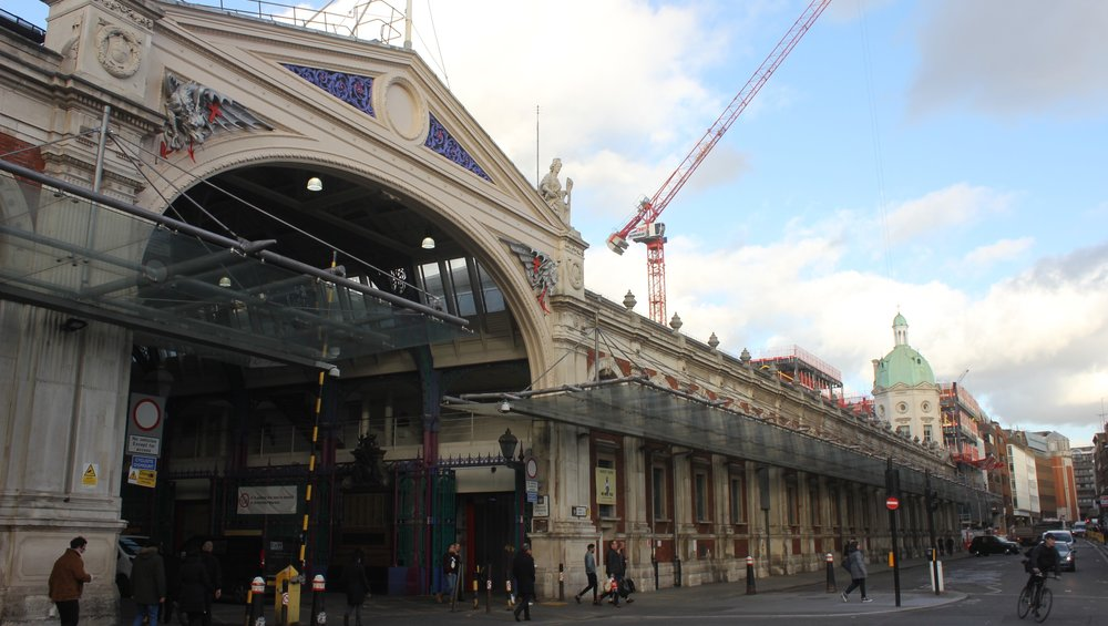 Today:Smithfield meat market -