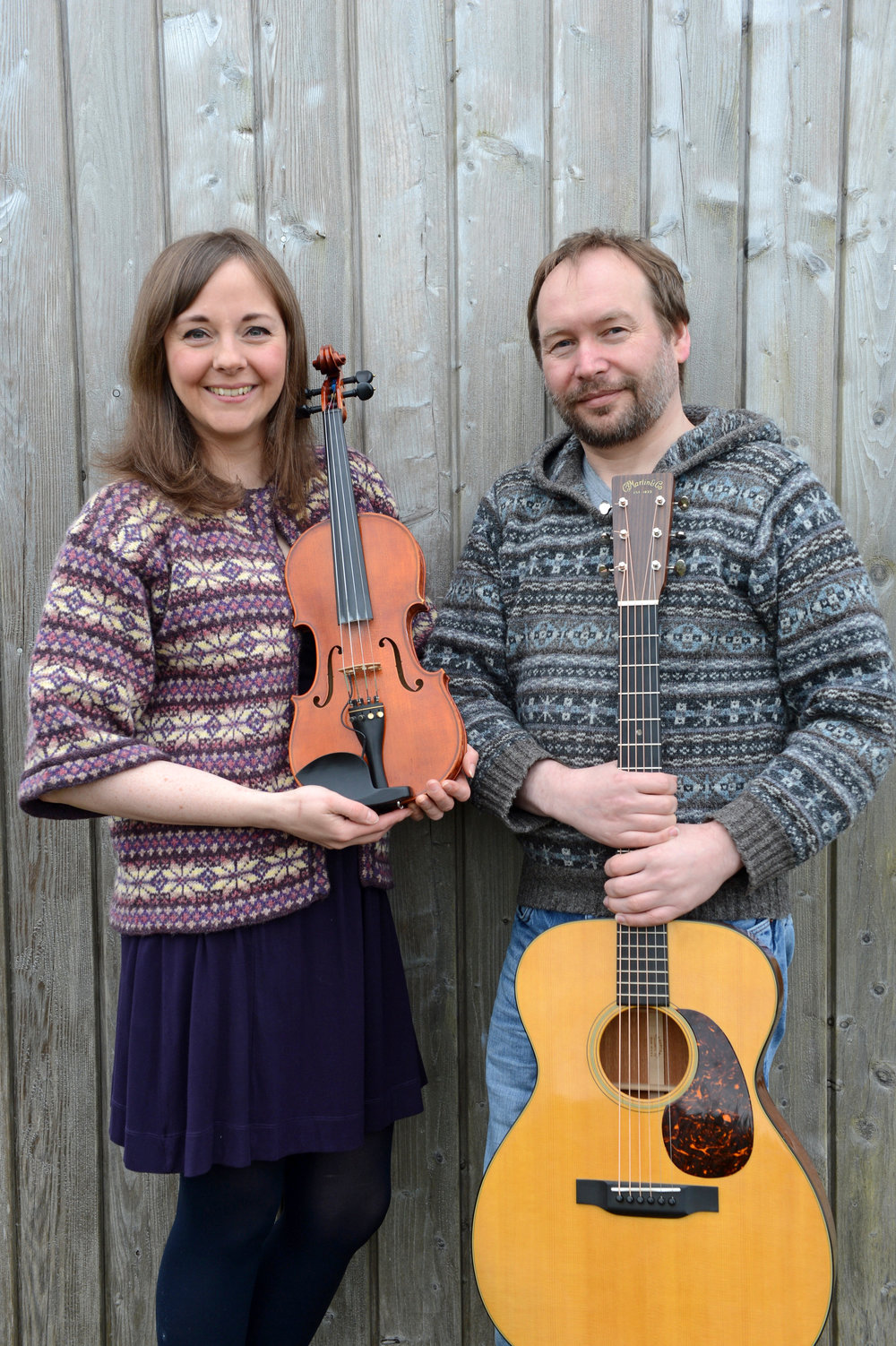 Claire White and Robbie Leask fiddle guitar.jpg