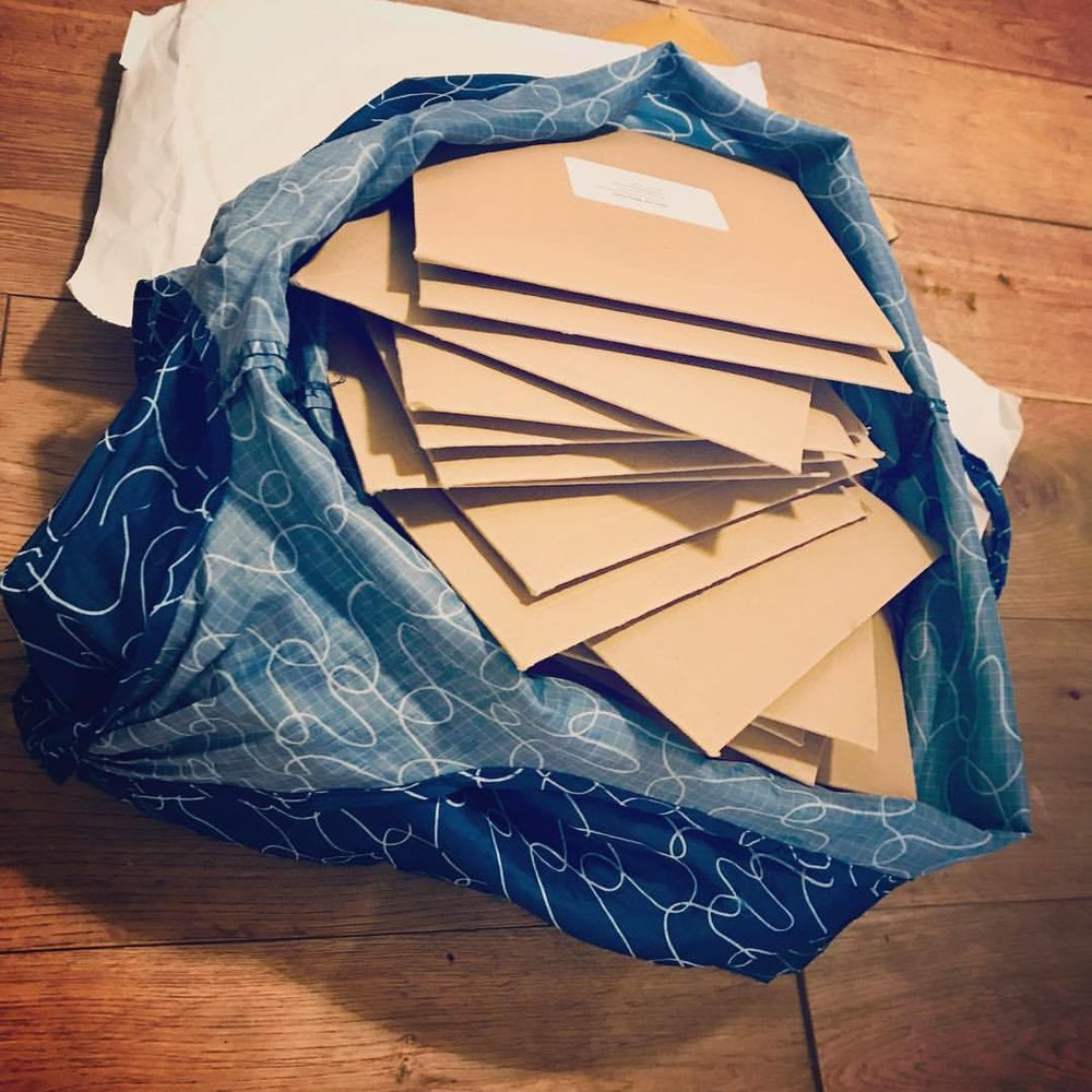 IT'S ALBUM LAUNCH DAY! 🚀🥳 Here are your pre-ordered CDs in my Shetland kitchen this morning 💿 They're off to Japan, the USA, Germany, France, Norway, Ireland, England, Scotland and Shetland. HUGE THANKS for your incredible international support 🙏 🏴󠁧󠁢󠁳󠁣󠁴󠁿 🏴󠁧󠁢󠁥󠁮󠁧󠁿 🇮🇪 🇳🇴 🇫🇷 🇩🇪 🇺🇸 🇯🇵   .  .  .  .  @promoteshetland @shetlandheritage #shetlanddialect #lassestrustinprovidence #clairewhite #robbieleask #shetlandfiddle #shetlandsong #guitar #preorder #albumlaunch #shetlandislands    https://www.instagram.com/p/BrM6BwnAE6r/?utm_source=ig_tumblr_share&igshid=kl0dj4ilpbe0