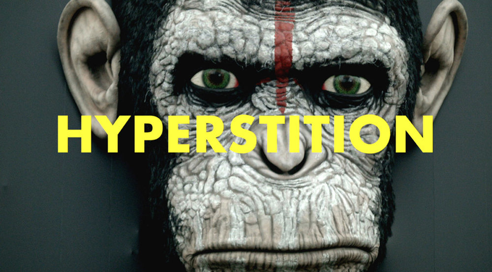 HYPERSTITION: The retooling of philosophy and political theory for the 21st Century.