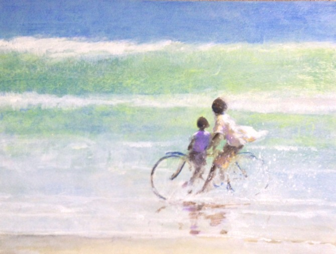 Children on a bike , Sri Lanka