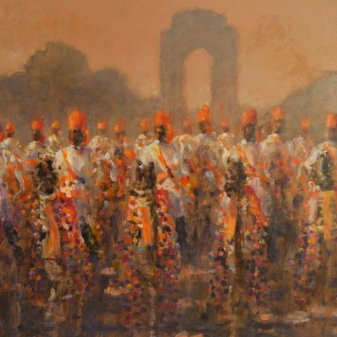 Camel Corps , National Day Delhi, 1