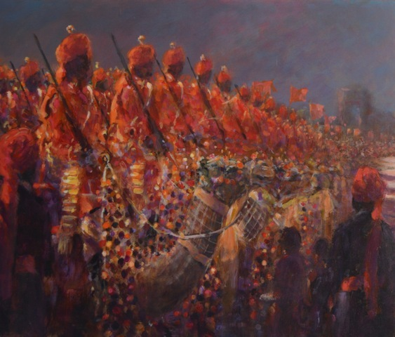 Camel Corps , National Day Delhi 2