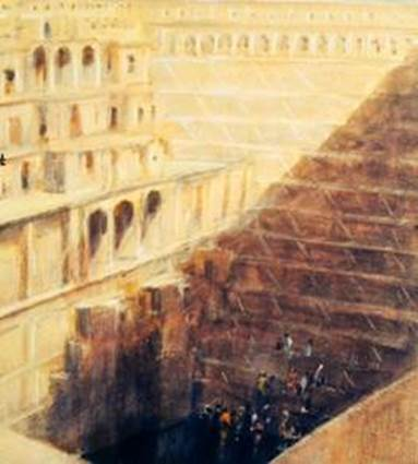 Step well Abaneri