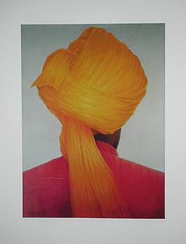 Saffron Turban