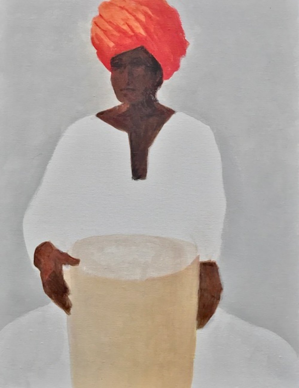 Drummer, Red Turban