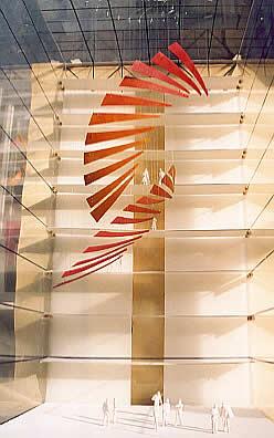 Suspended Sculpture for Matsuchita Japan