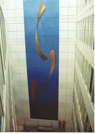 Mural on canvas panels for Investec Bank (UK)