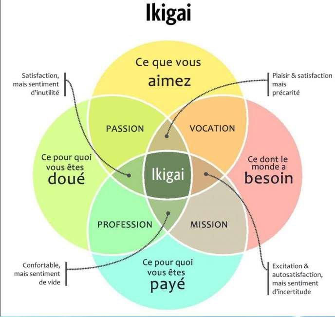 Le fameux diagramme Ikigaï