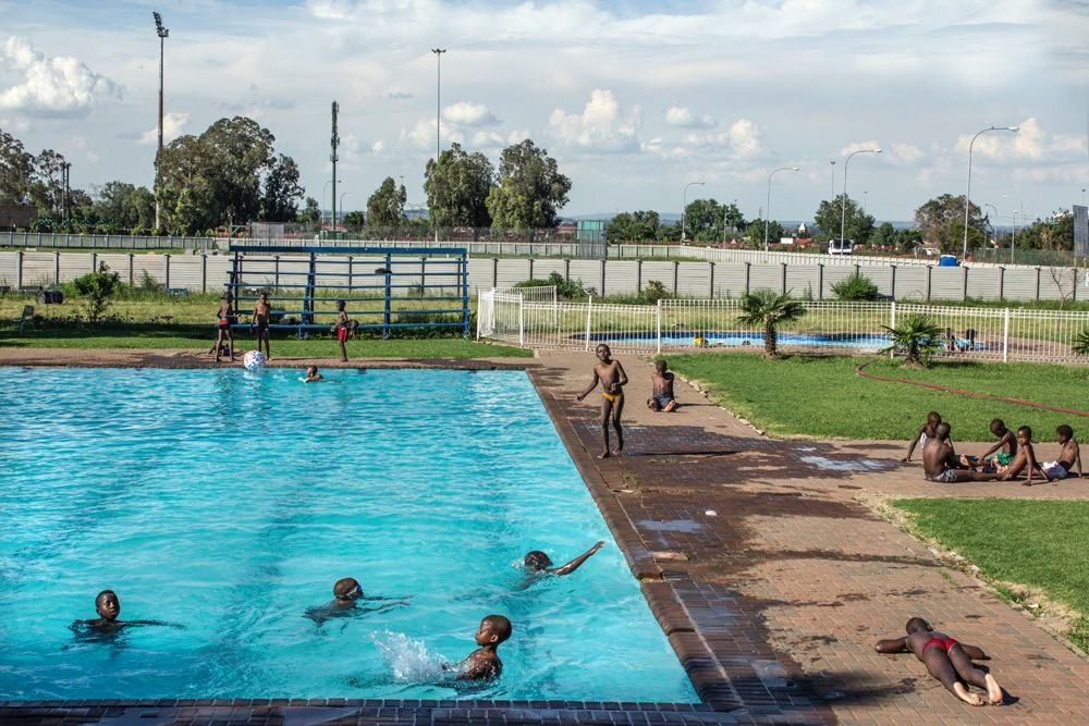 Sharpeville Swimming Pool,  Photographer  Tsepo Gumbi©