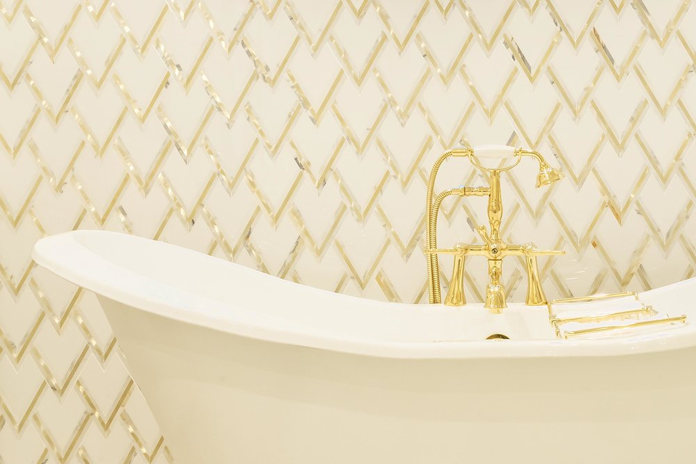 TILE - Choose from our vast array of decorative tiles including ceramic, porcelain, glass, metal, accent and borders