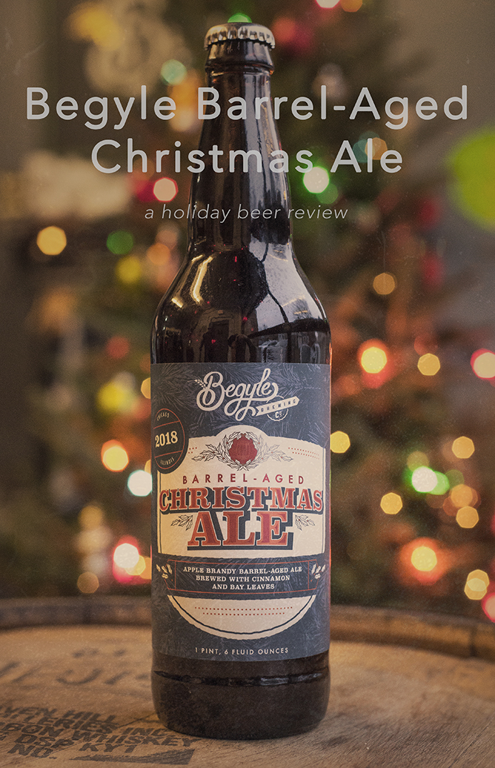 The Barrel-Aged Christmas Ale is available at Begyle's Taproom.