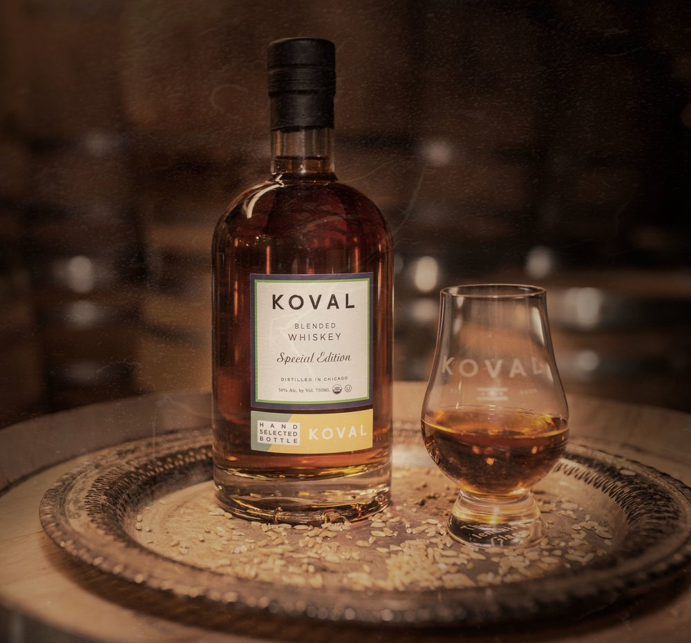 The Bottle I'll Hold Onto For A While. - KOVAL Special Edition, blended by Phil Romanello.