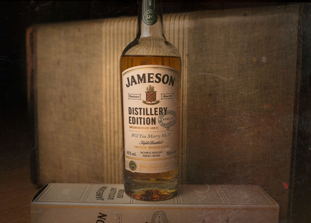 The Most Memorable Bottle - This bottle said the words for me on the shores Galway when I asked my future wife to make forever to be real.