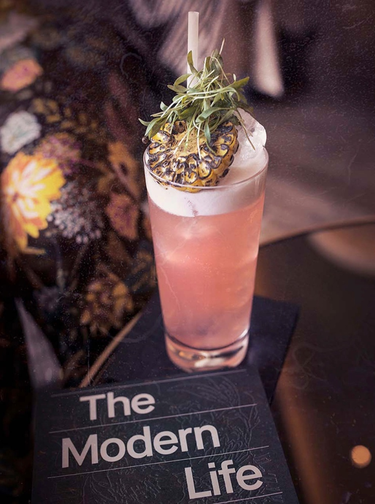 The Best Cocktail Bar - Dandelyan's Pinnacle Point Fizz