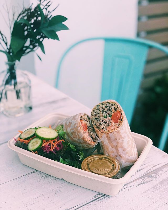 Happy last day of Art Basel! How everyone had a great time with the amazing art around Miami. Order a Sobe Salmon wrap to get that boost for the last day and finish Art Basel strong!