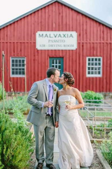 Allison & Sean's Vineyard Destination Wedding