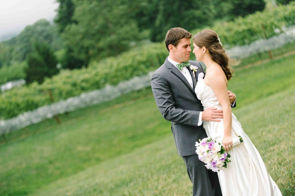 Becca & Jason's Veritas Vineyard Wedding