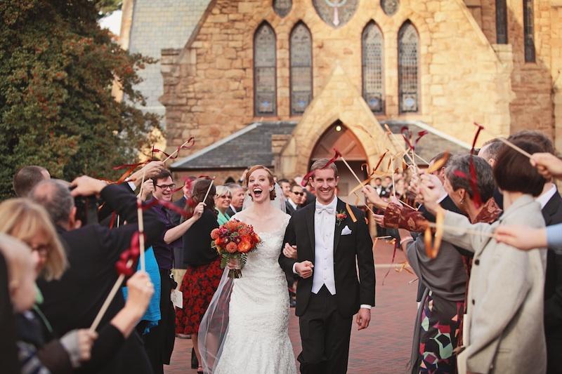 UVA Chapel Wedding