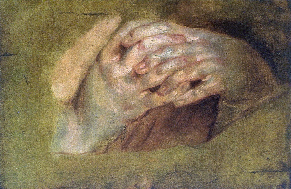 Image credit: Praying Hands by Peter Paul Reubens