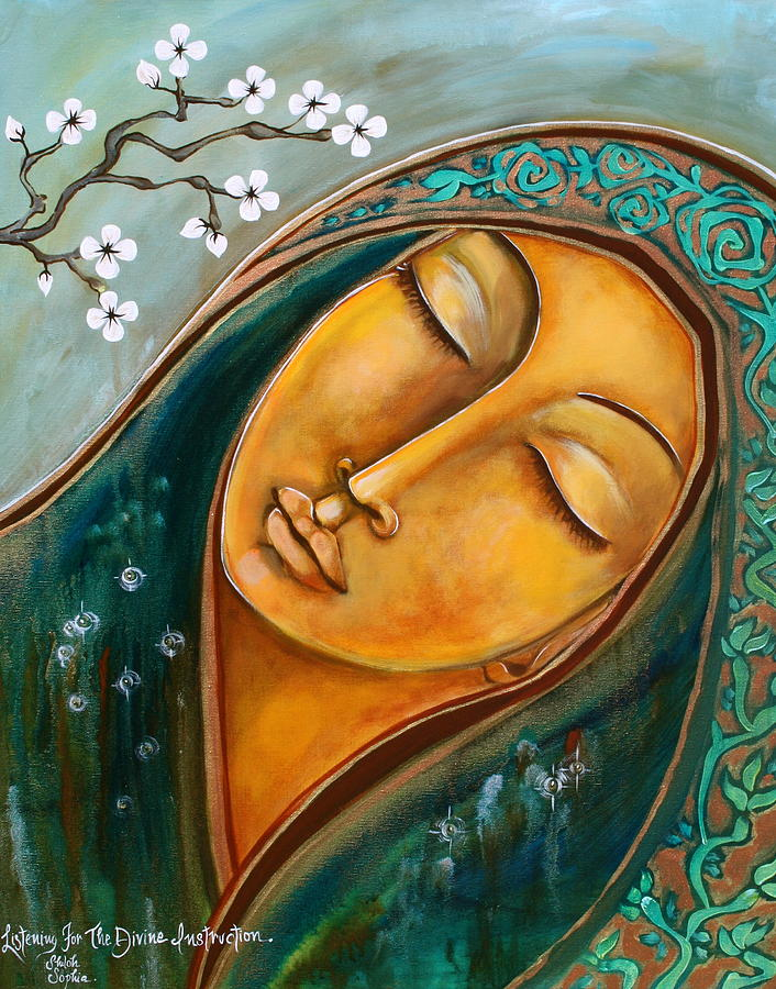 Listening for Divine Instruction  by Shiloh Sophie McCloud
