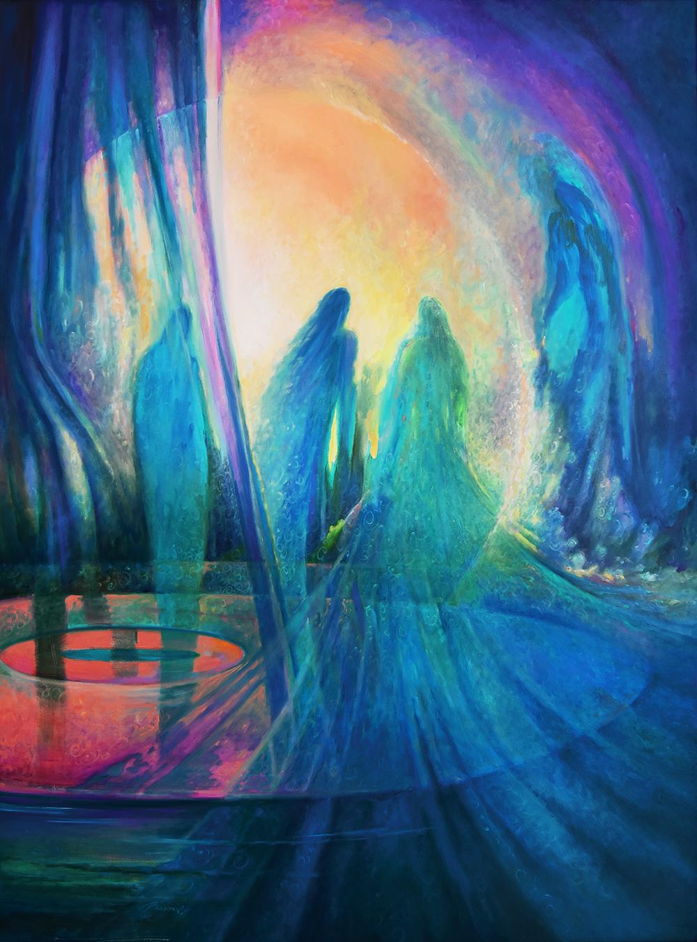 Divine Emanation by Rassouli
