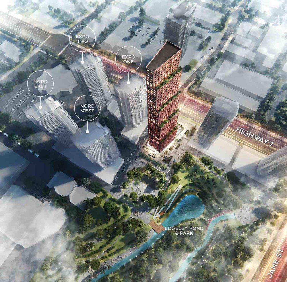 CG TOWERS  CREDITSTONE RD. VAUGHAN