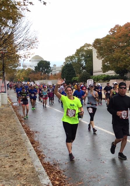 Deb Boiarsky Marine Corp Marathon