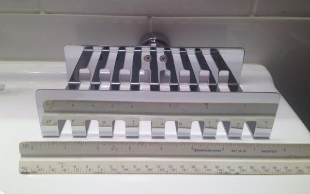 INDA Dado 1200 A1251A wall mount bath tray, 21 w x 13,3 proj. x 4,5 tall, PC.jpg