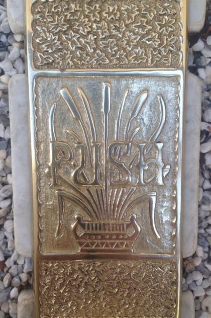 Crown City Hardware Art Nouveau ktichen door push plate detail.jpg