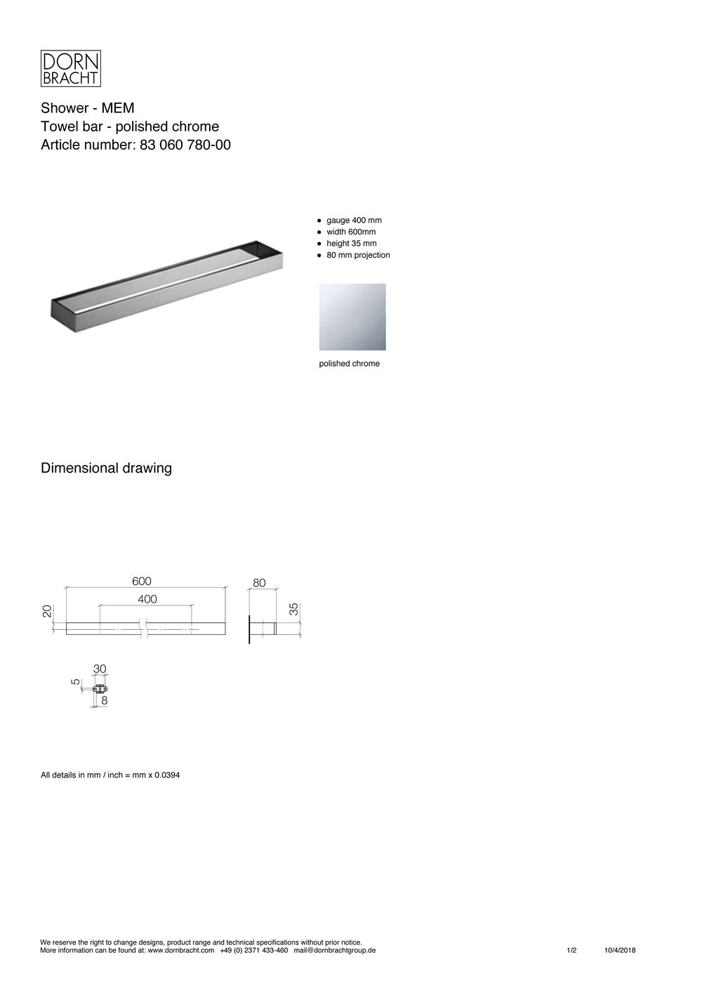 Dornbracht MEM towel bar specification sheet-1.jpg