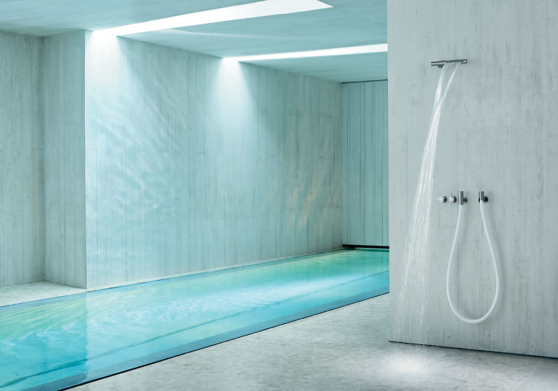 Vola private residence indoor swimming poo l.