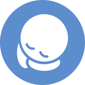 sleeping kid icon