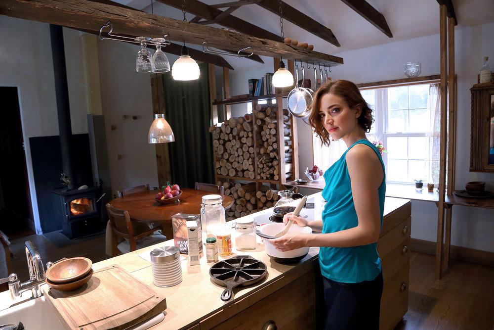 holiday-14-bts-lingerie-lookbook-teal-tank-navy-lounge-pant-kitchen-1.jpg