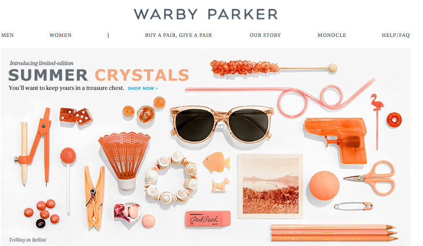 The Emerging Designer Warby Parker