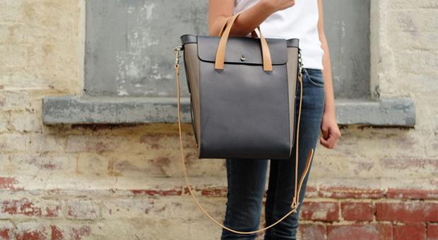 The Emerging Designer M Hulot Nova Flap Shopper
